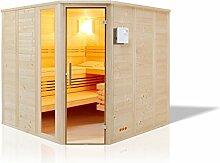 Infraworld Sauna Urban Massivholz 209 x 209 cm 391033