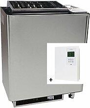 Infraworld Saunaofen Bi O Mat 7,5kW Verdampferofen inkl Steuerung Slimeline 1200