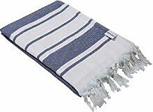 InfuseZen Dünnes türkisches Handtuch mit weichem