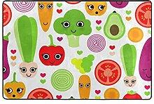 ingbags Gemüse Tomate Wohnzimmer Essbereich Teppiche 3x 2Füße Bed Room Teppiche Büro Rugs Moderner Boden Teppich Home Decor, Polyester, multi, 3 x 2 Fee