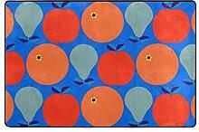 ingbags orange Leaf Wohnzimmer Essbereich Teppiche