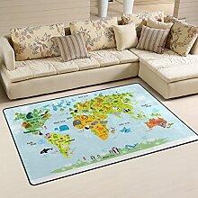 INGBAGS superweicher Teppich mit