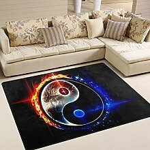INGBAGS Teppich im Design: Chinesischer Drache Tai