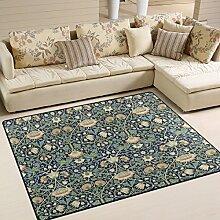 Ingbags Teppich mit William Morris-Motiv, für