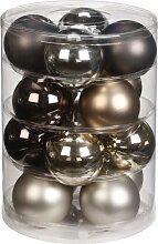 Inge-glas 15090D004 Kugel 75 mm, 16 Stück/Dose,