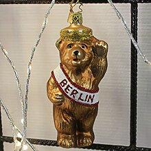 Inge-glas Christbaumschmuck Berliner Bär