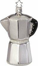 Inge-glas Christbaumschmuck Espressokanne