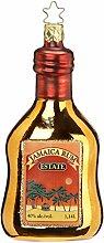 Inge-glas Christbaumschmuck Flasche Rum