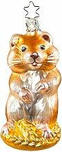 Inge-Glas Christbaumschmuck Hamster