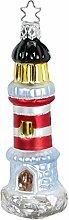 Inge-glas Christbaumschmuck Leuchtturm