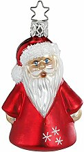 Inge-glas Christbaumschmuck Winter Santa