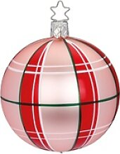 INGE-GLAS® Weihnachtsbaumkugel Christmas Check