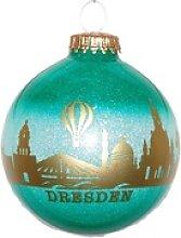 INGE-GLAS® Weihnachtsbaumkugel Dresden