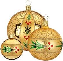 INGE-GLAS® Weihnachtsbaumkugel Evergreen (1