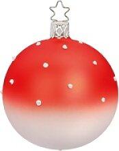 INGE-GLAS® Weihnachtsbaumkugel Lovely Dots (1