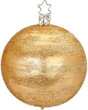 INGE-GLAS® Weihnachtsbaumkugel Raureif (1