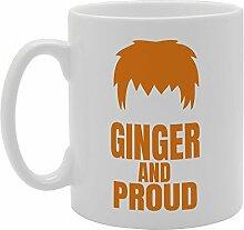 Ingwer und stolz Funny Tasse Kaffee Becher mit