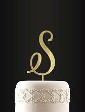 Initial Cake Topper Monogramm Cake Topper