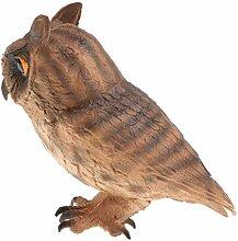 Injoyo Dekofigur Eule Vogeldeko Gartenfigur