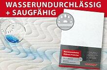 Inkontinenz Matratzenauflage Matratzenschoner 180 x 200 x 25 cm NEU