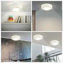 InLife 4PCS LED Nachtlicht und Schrankbeleuchtung mit Bewegungsmelder/PIR, aufladbar mit USB Kabel, klein und leicht, Auto ON/OFF, fit für Flur, Treppe, Schlafzimmer, Kleiderschrank, Küche usw.