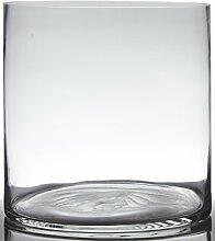 INNA Glas Blumentopf Glas Sansa, Zylinder/rund,
