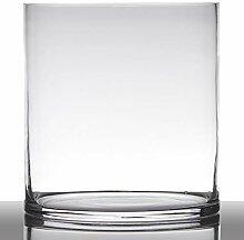 INNA-Glas Blumentopf Glas Sansa, Zylinder - rund,