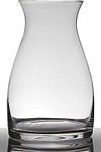 INNA Glas Bodenvase Glas Maisie, Sanduhr/rund,