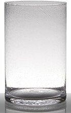 INNA Glas Bodenvase Glas Sansa, Zylinder/rund,