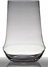 INNA-Glas Bodenvase Glas Shane, Kegel - rund,