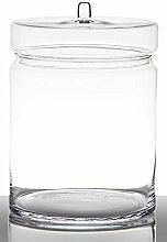 INNA-Glas Bonbon Glas Millie mit Deckel, Zylinder