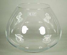 INNA Glas Kerzenglas Joyce, Kugel/rund, klar,