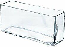 INNA Glas - Quaderförmige Vase/Snack Schale Jack