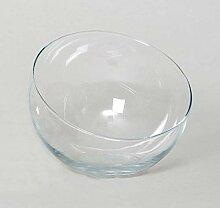 INNA-Glas Schräge Kugelvase Nelly aus Glas,