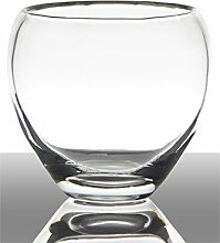 INNA Glas Set 2 x Kerzenglas Pablo, Kugel/Rund,