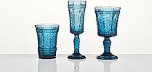 INNA-Glas Set 3 x Sektglas Donna auf Standfuß,