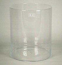 INNA-Glas Windlicht Titus, Zylinder - rund, klar,