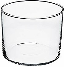 INNA-Glas Zylindrische Glas Vase Sansa,