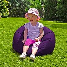 Innen- / Außen Kleine Kinder Sitzsack - Lila