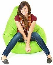 Innen Außen Wasserfest Gefüllt Sitzsack Gaming-sessel Sitz Lounger, Erhältlich in 12 Farben - Limettengrün