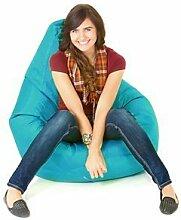 Innen Außen Wasserfest Gefüllt Sitzsack Gaming-sessel Sitz Lounger, Erhältlich in 12 Farben - Aqua