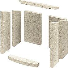 Innenauskleidung Vermiculite komplett Kaminofen
