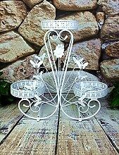 Innenblumenregale Eisen Blume Rack Boden Typ Blume Rack Wohnzimmer Balkon Blume Rack Succulent Pflanzen Blume Rack Dekoration Einfache Blume Rack Outdoor Blumenregale ( Farbe : A , größe : 70*25*65cm )