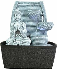 Innenbrunnen Zimmerbrunnen Feng Shui Weisheit LED