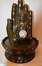 Innenbrunnen Zimmerbrunnen Meditation Buddha/Hand