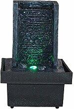 Innenbrunnen Zimmerbrunnen Zen Wand LED