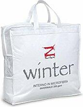 Innenraum Daunen Winter 350gr/qm aus weichem Mikrofaser Typ Winter Für 1,5 Personen Interno