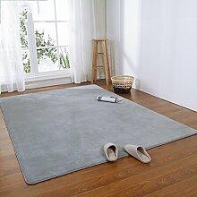 Innenteppich Anti-Rutsch-Wohnzimmer rechteckiger Teppich für Schlafzimmer Baby Crawling Teppich Decke ( Farbe : #6 , größe : 160cm*230cm )