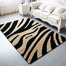 Innenteppich Boden + Teppiche + Wohnzimmer Schlafzimmer Teppich-European Thick Teppich Decke ( Farbe : 4# , größe : 160*230cm )