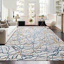 Innenteppich Design Der Teppich Rechteckiger Teppich Couchtisch Sofa Studie Schlafzimmer voller Teppich Decke ( Farbe : D , größe : 80*120cm )